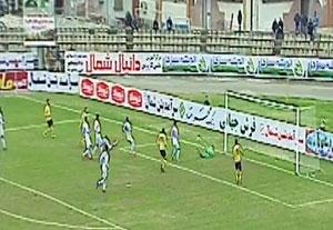 خلاصه بازی ملوان 0-0 نفت مسجد سلیمان