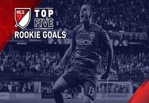 5 گل برتر فوتبالیستهای تازه کار در MLS