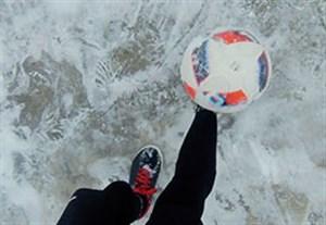 چالش جالب روپایی در آب و هوای برفی