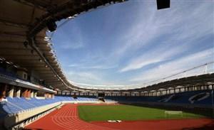 حال و هوای ورزشگاه امام رضا قبل از شروع بازی