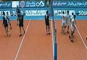خلاصه والیبال پارسه 0-3 شهرداری ارومیه