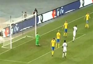 گلهای بازی سوئد 1-2 ساحل عاج