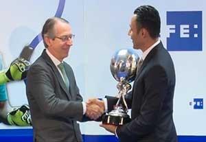 کیلور ناواس برنده جایزه EFE
