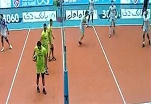 خلاصه والیبال پارسه تهران 0-3 کاله مازندران