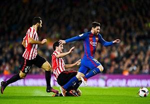 خلاصه بازی بارسلونا 3-1 بیلبائو(سوپرگل مسی)
