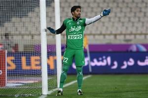 حسینی همچنان به دنبال کلین شیت شماره 3