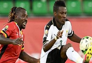 خلاصه بازی غنا 1-0 اوگاندا