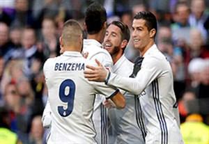 رئال مادرید و میانگین 4 گل در هر بازی کوپا دل ری