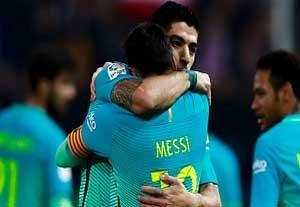 خلاصه بازی اتلتیکومادرید 1-2 بارسلونا