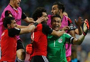 خلاصه بازی بورکینافاسو 1-1 مصر (پنالتی 3-4)