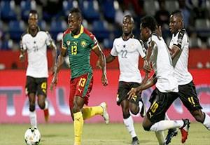 خلاصه بازی کامرون 2-0 غنا