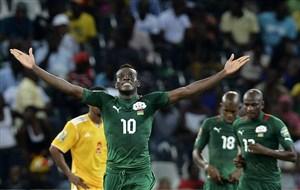 عنوان سوم جام ملت های آفریقا برای بورکینافاسو