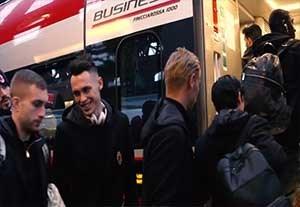 سفر تیم آث میلان به شهر بلونیا