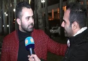 صحبتهای هواداران سرخابی پیش از بازی استقلال - السد