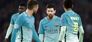 تلخ ترین شکست های اروپایی تاریخ بارسلونا