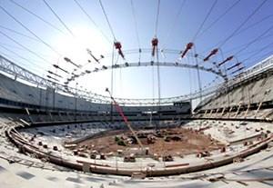 مراحل ساخت استادیوم با شکوه اتلتیکومادرید