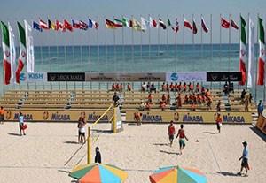 صعود تیمهای ملی ساحلی ایران به مرحله حذفی