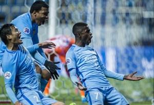 خلاصه بازی ججو یونایتد 0-1 جیانگسو (گلزنی رامیرس)