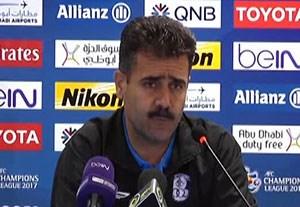 صحبتهای پورموسوی و طیبی پیش از بازی با الجزیره