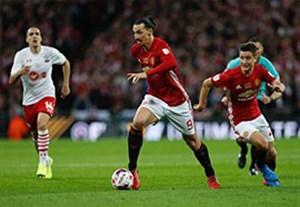 خلاصه بازی منچستریونایتد 3-2 ساوتهمپتون (فینال جام اتحادیه انگلیس)