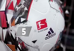 5 گل برتر هفته 24 بوندسلیگا