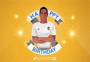 به مناسبت تولد 26 سالگی رودریگو مونرو
