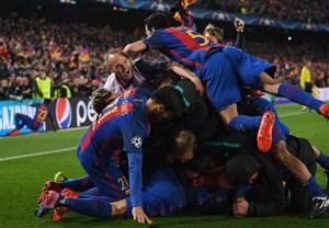 واکنش بزرگان فوتبال به پیروزی تاریخی بارسلونا
