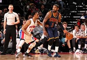 خلاصه بسکتبال دیترویت 106-101 کلیولند