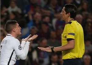 افشای توهین زشت داور به بازیکنان PSG
