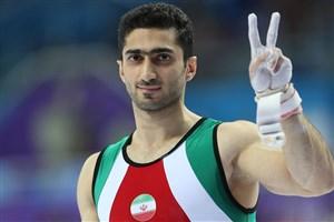 سعیدرضا کیخواه امید اول ژیمناستیک ایران