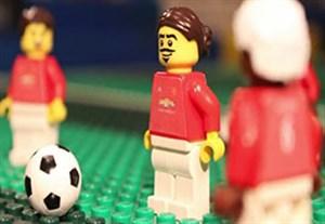 شبیه سازی قهرمانی منچستریونایتد در جام اتحادیه با لگو