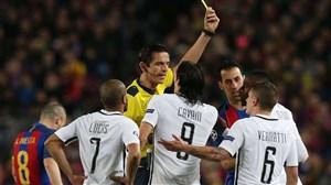 جریمه شدن باشگاه بارسلونا توسط یوفا