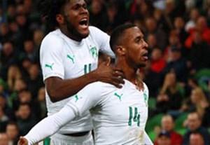 گلهای بازی روسیه 0-2 ساحل عاج