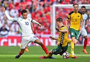 خلاصه بازی انگلیس 2-0 لیتوانی