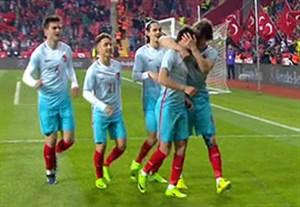 خلاصه بازی ترکیه 3-1 مولداوی