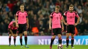 ناراحتی کاپیتان اسکاتلند از پیراهن های صورتی!