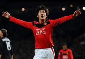 27 گل پارک جی سونگ برای منچستریونایتد