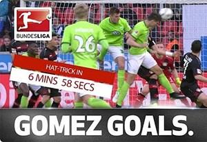 هتریک ماریو گومز در 7 دقیقه !