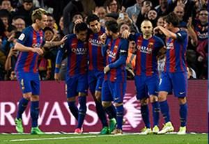خلاصه بازی بارسلونا 3-0 سویا (درخشش MSN)