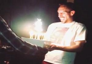 جشن تولد آلابا برای ریبری