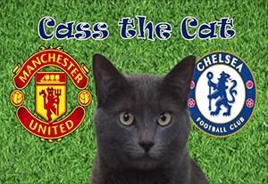 پیش بینی بازی منچستریونایتد -چلسی با گربه
