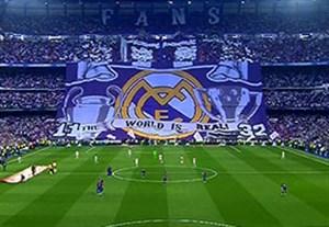 آغاز ال کلاسیکو با رجزخوانی هواداران رئال مادرید