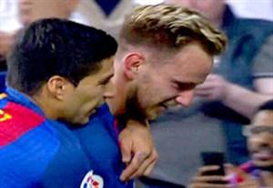 سوپر گل دیدنی راکیتیچ؛ رئال مادرید-بارسلونا