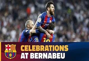 واکنش های نیمکت بارسلونا در ال کلاسیکو مهیج و دیدنی