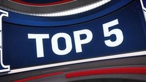5 حرکت برتر بسکتبال NBA در شب گذشته (03-02-98)