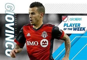 سباستین جووینکو بهترین بازیکن هفته 8 لیگ MLS