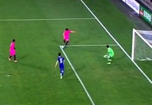 اشتباه وحشتناک دروازه بان اولسان در بازی با کاشیما آنتلرز