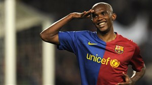 تیم منتخب ساموئل اتوئو ستاره سابق بارسلونا