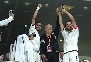 گلهای بازی السد 2-1 الجیش + جشن قهرمانی