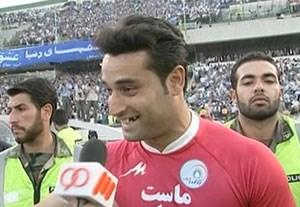 لحظات جالب علی نظر محمدی در دوران بازیگری